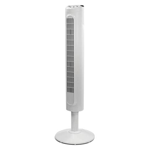 tower fan with thermostat honeywell hyf023w comfort control tower fan slim design