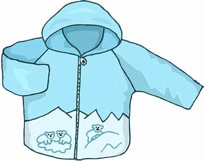Coat Clipart Jacket Winter Transparent Kid Clip