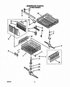 Whirlpool Du8950xy1 Dishwasher Parts And Accessories At
