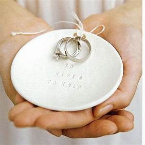 ring bearer bowl to have and to hold wedding ring holder With wedding ring keeper