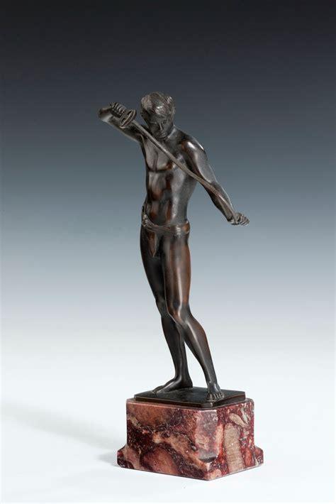 deco bronze figures ludwig eisenberger richard gardner antiques