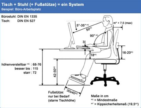 ergonomischer schreibtisch anforderungen verfahrenshinweise und rechtsvorschriften universit 228 t greifswald