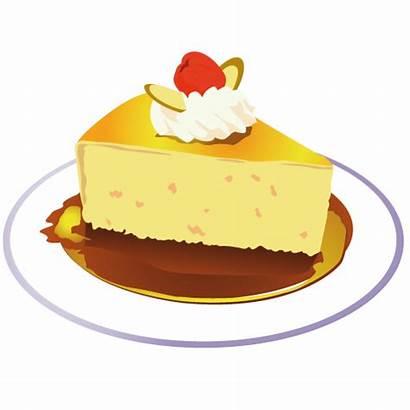 Cake Piece Clipart Clip Icon Birthday Yellow