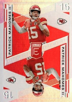 panini donruss elite football checklist nfl boxes