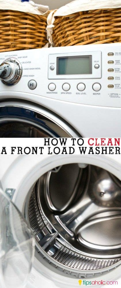 clean front load washer washing machines front load washer and cleanses on pinterest