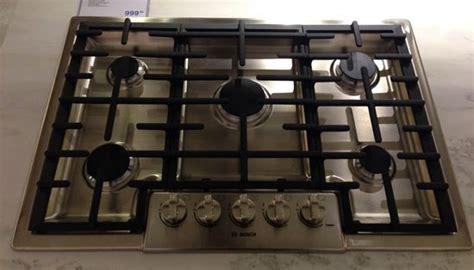 bosch benchmark  ge monogram gas cooktops reviews