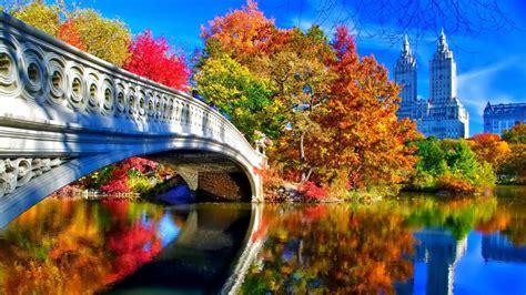 Fall Backgrounds New York autumn in new york desktop wallpaper in 1920x1080 hd