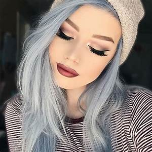 Blue Hair 30 Brand New Bangin39 Blue Hair Color Ideas