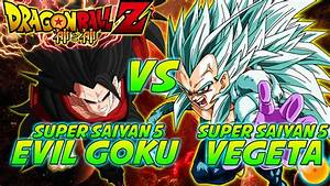 Dragonball Z: What If Battle - Evil Super Saiyan 5 Goku Vs ...