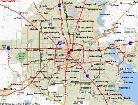 Map of Houston Texas - Free Printable Maps