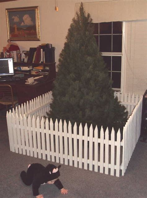 christmas tree fence for dogs tree gate tutorial part 2 home tree gate tree diy