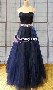 midnight blue ball gown or wedding dress style av101 With midnight blue wedding dress