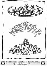 Tiara Coloring Pages Booth Draw Princess Drawing Crown Colouring Templates Tiaras Template Getdrawings Sheets Printable Adult Getcolorings Booths sketch template