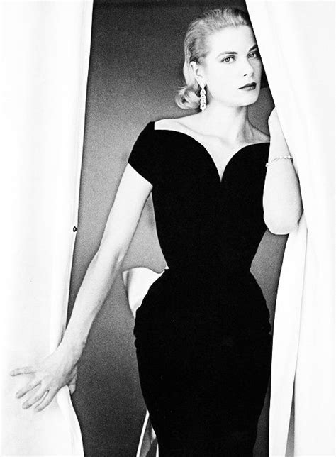 grace kelly   lbd  black dress lbd