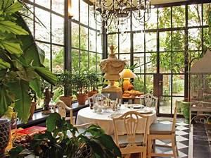 Jardin D Hiver Veranda : jardins d 39 hiver oasis de charme elle d coration ~ Premium-room.com Idées de Décoration