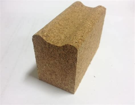Cork Sanding & Waxing Block with grip  Jelinek Cork