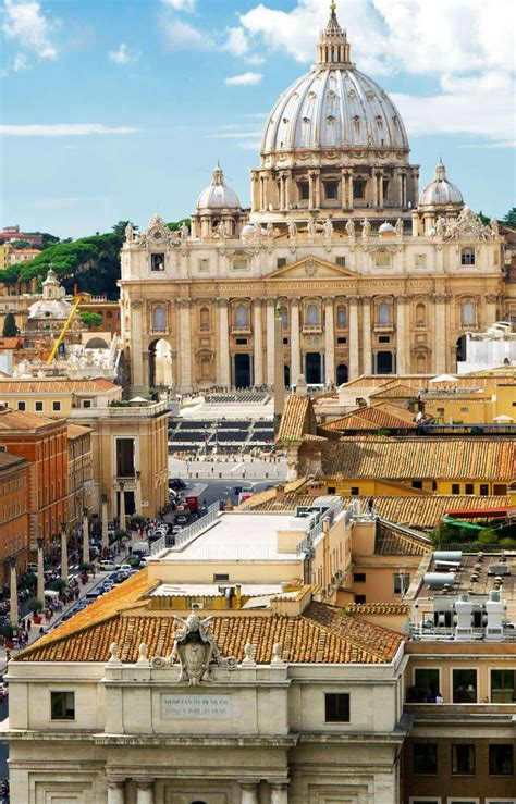 St Peters Basilica Vatican Awesome Views Pinterest