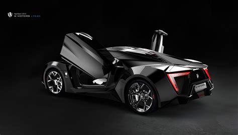 $34 Million W Motors Lykan Hypersport Gets Suicide Doors