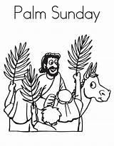 Sunday Coloring Palm Pages Jesus Preschool Easter Bestcoloringpagesforkids Sheets Bible Story Drove Spirit Into sketch template