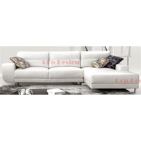 canapé d angle cuir pleine fleur canapé d 39 angle en cuir pleine fleur angelo pop design fr