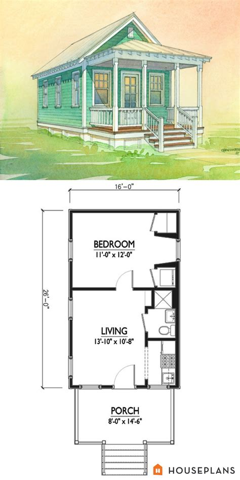 charming tiny cottage plan  marianne cusato sft