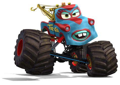 mater monster truck videos pixar animation studios