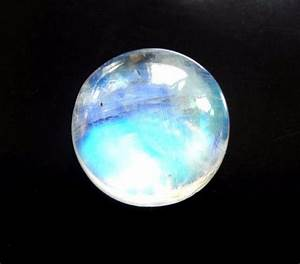 Natural Rainbow Moonstone Round Normal Cut Loose Gemstone ...