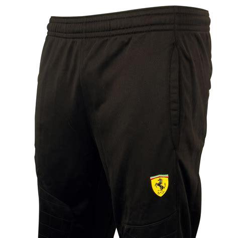 B nsw club flc jogger pant. Mens Boys Puma SF Scuderia Ferrari Black Pants Tracksuit ...