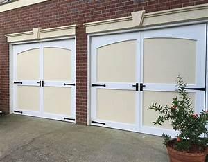Porte de garage : Ouverture Battante Budget Maison