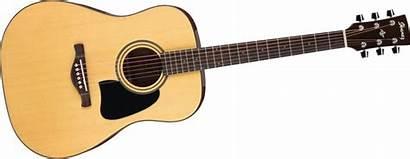 Guitar Clip Clipart Acoustic Fretboard Guitars Band