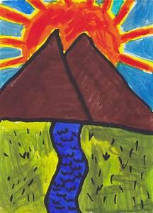 Mountain Valley Drawing by SayuriSakurai on DeviantArt