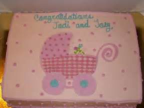 Simple Baby Shower Cake Idea