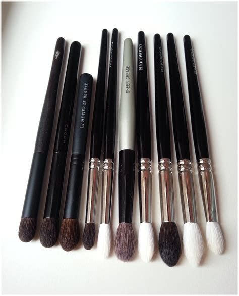 favourite eyeshadow blending brushes hakuhodo suqqu