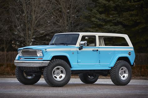Jeep Chief Concept Combines Classic Design Wrangler And