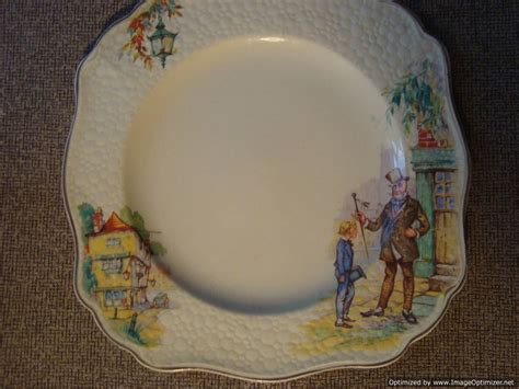 bardais vintage antiques  collectibles jg meakin englandsunshinedickins style plate
