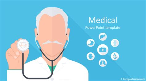 medical powerpoint template templateswisecom