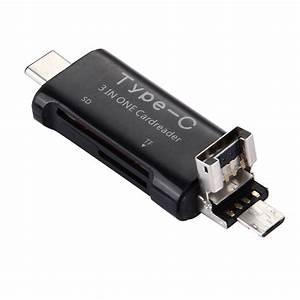 Usb To Micro Usb : usb type c to usb micro usb sd memory card reader otg adapter ~ Orissabook.com Haus und Dekorationen