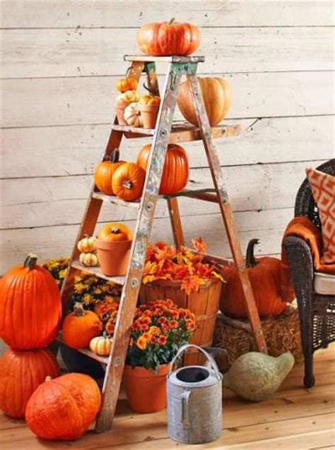 Fall Porch Displays by 55 Cozy Fall Patio Decorating Ideas Digsdigs