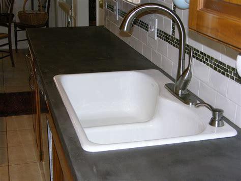 resurfacing kitchen countertops pictures ideas from diy concrete countertop resurfacing concreteideas