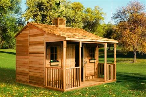 ranchouse backyard sheds prefab guest cottage kits