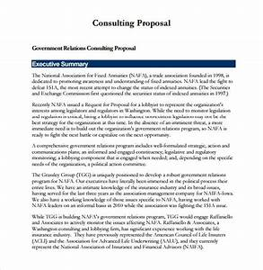Sample Consultant Proposal  9+ Doents in PDF , Word
