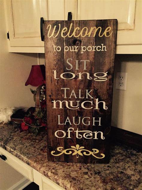 porch wood sign porch decorating decor
