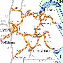 Carte De France Autoroute : liste des autoroutes de france wikip dia ~ Medecine-chirurgie-esthetiques.com Avis de Voitures