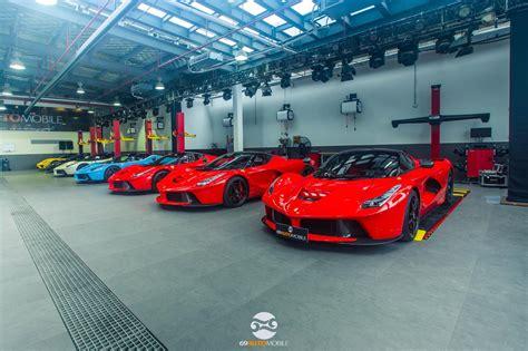 5 LaFerraris, 2 Porsche 918s and 2 McLaren P1s Meet at ...