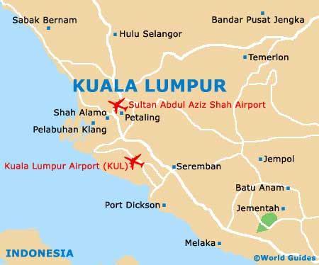 map  kuala lumpur airport kul orientation  maps