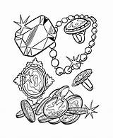 Pirate Coloring Cartoon Pages Pirates Treasure Chest Clipart Coins Ship Drawing Sheets Colouring Cliparts Clip Template Activity Library Caribbean Popular sketch template