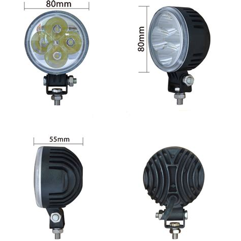 led lights 3 inch led driving light 12w 3 inch made in shiguang guangzhou