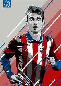 Antoine Griezmann. Atletico de Madrid | ANTOINE GRIEZMANN ...