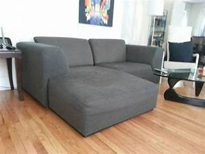Grey small sectional sleeper sofa s3net sectional for Mini sectional sleeper sofa