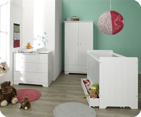 chambre bebe com armoire bébé oslo blanche achat vente armoire chambre bébé